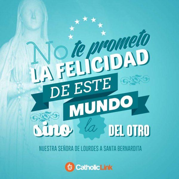 Nuestra Señora de Lourdes a Santa Bernardita