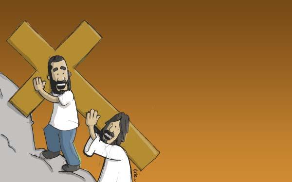 Via Crucis, (Infografía) El Vía Crucis y mi vida. 14 estaciones con Jesús