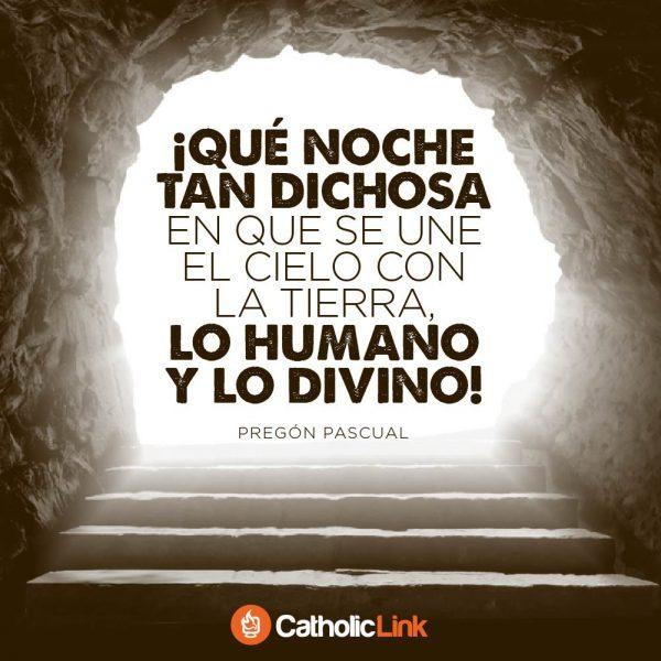 ¡Que noche tan dichosa! | Pregón Pascual