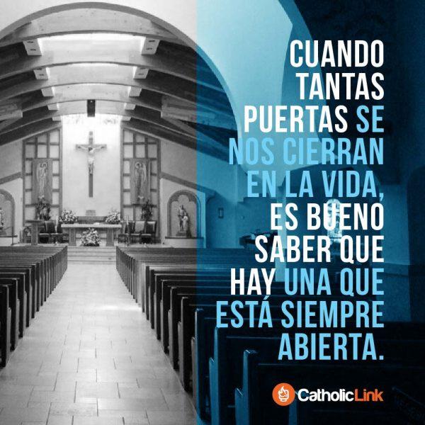 La puerta al corazón de Dios está siempre abierta