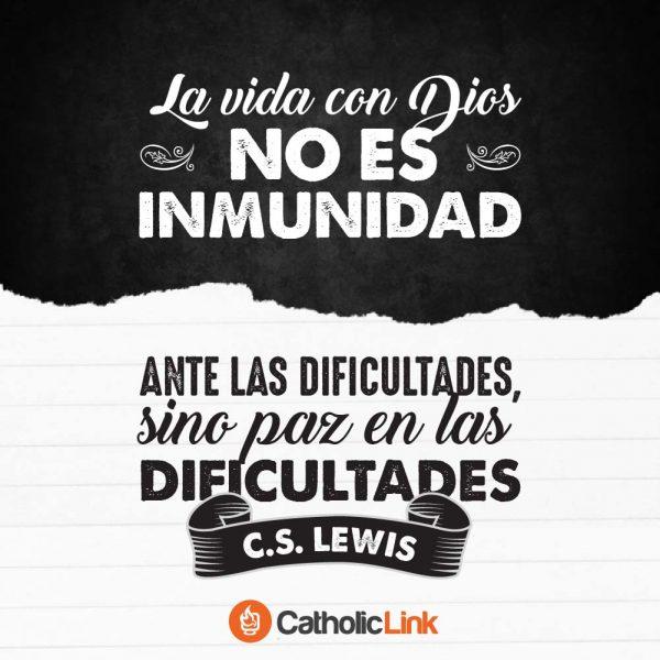 La vida con Dios es paz en las dificultades | C.S. Lewis