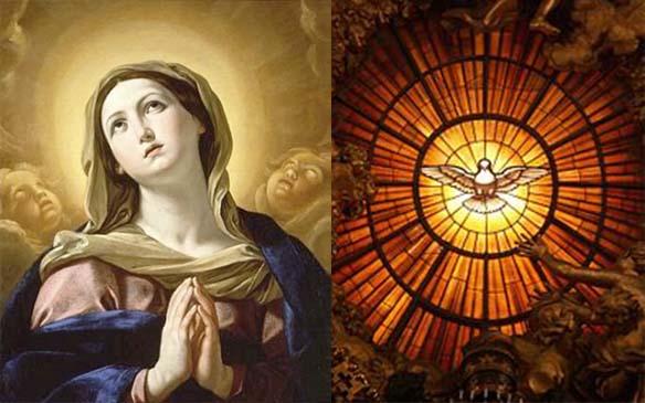 Espíritu, Las dos hermosas promesas que nos deja Jesús: su Espíritu y su Madre (comentario al Evangelio)