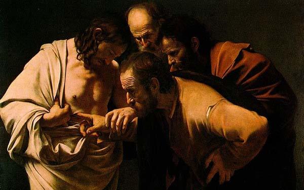 Tomás, El día en el que Tomás encontró la paz en las heridas de Jesús (comentario al Evangelio)