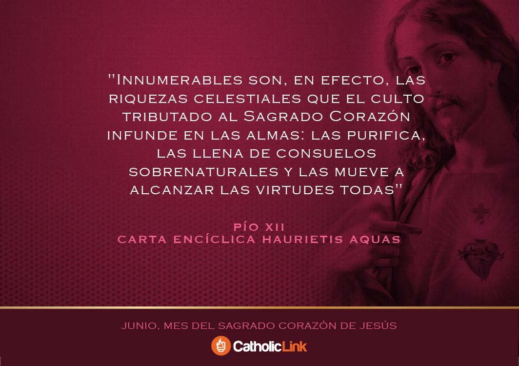 Galería Frases Sobre El Sagrado Corazón De Jesús Catholic