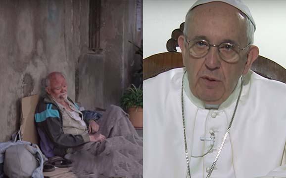 Video del Papa, El Papa quiere que tú no te olvides de aquellos que muchas veces son olvidados