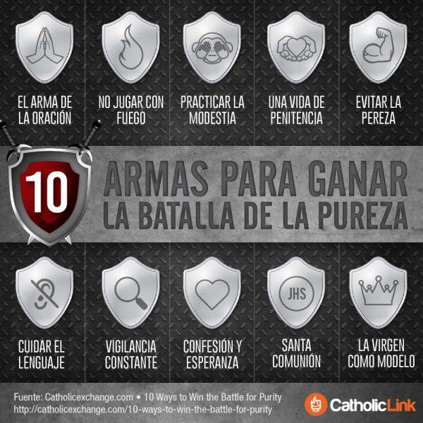 Infografía: 10 armas para ganar la batalla de la pureza