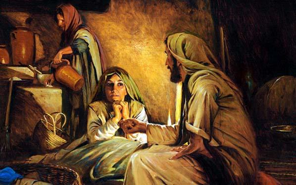 Marta, ¿Eres Marta o María? El perfecto equilibrio es nuestra Madre (comentario al Evangelio)