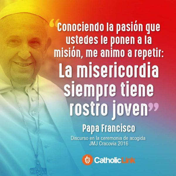 La misericordia siempre tiene rostro joven | Papa Francisco