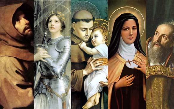 Santos, Los santos son nuestros grandes amigos. ¿Sabes cuál es el tuyo?