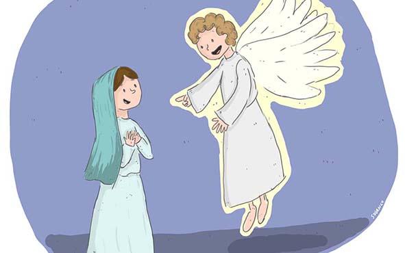 Feminismo, 5 lecciones de feminismo que le dio la Virgen María al Ángel Gabriel