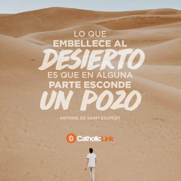Lo que embellece al desierto | Antoine de Saint-Exupéry
