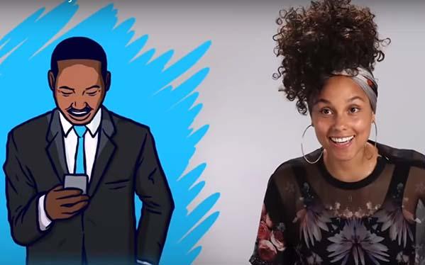 Alicia Keys, ¿Qué tiene para decirnos Alicia Keys sobre cómo cambiar el mundo?