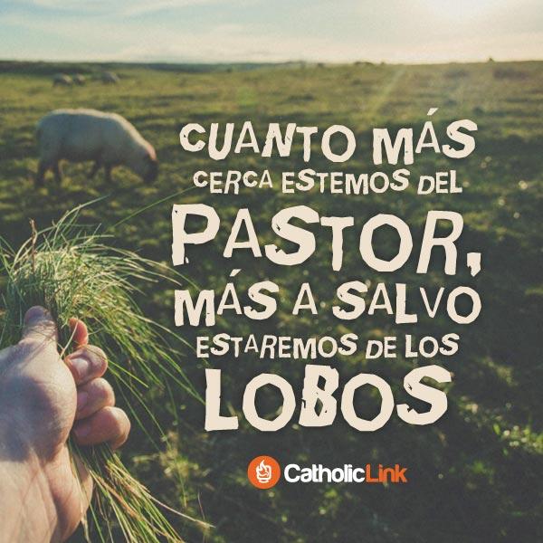 Mientras más cerca estemos del Pastor…