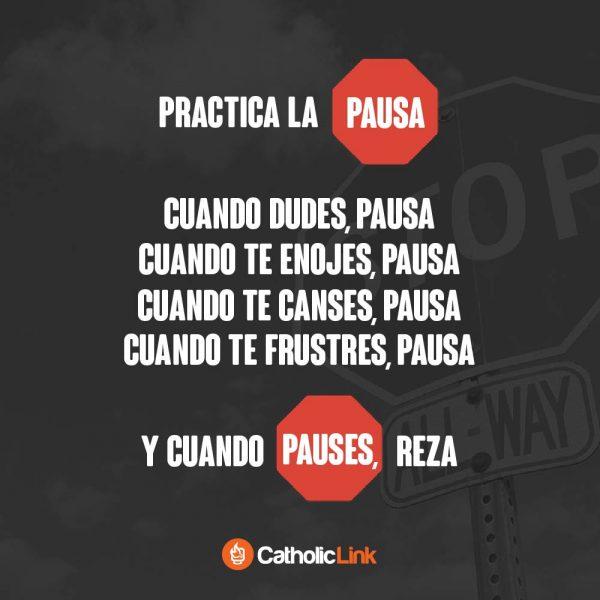 Pon en práctica la pausa