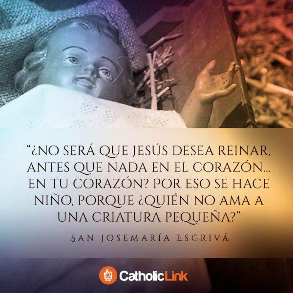 Jesús desea reinar en nuestros corazones | San Josemaría