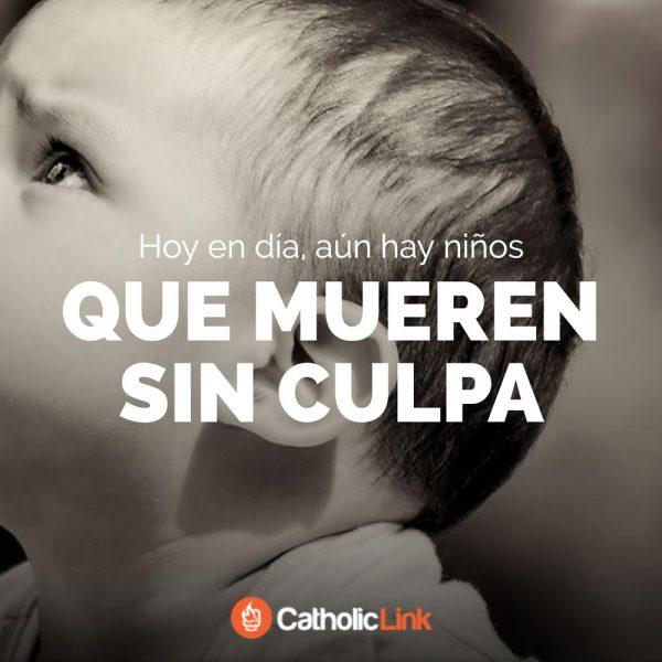 Hoy en día aún hay niños que mueren sin culpa | Santos Inocentes