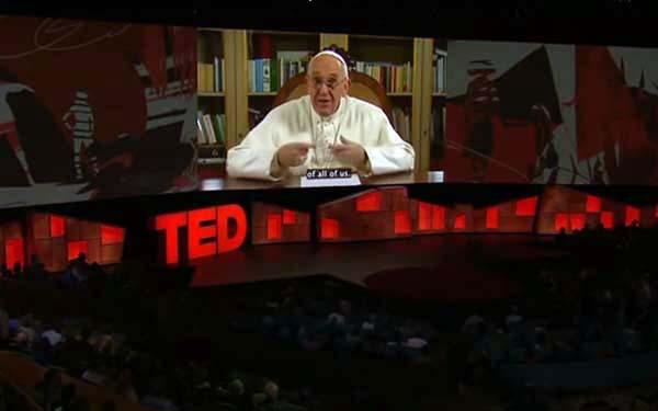 TED, (Viral) El Papa Francisco nos sorprende con su participación en TED Talk