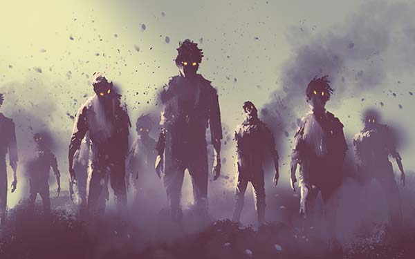 Zombies, A veces parecemos zombies. Somos como muertos en vida (comentario al Evangelio)