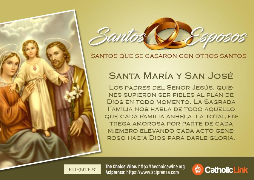 Matrimonios No Católicos : Galería santos esposos catholic link