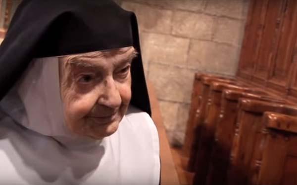 Sor Teresita, ¿Qué haces durante 86 años en un convento de clausura? El testimonio de Sor Teresita