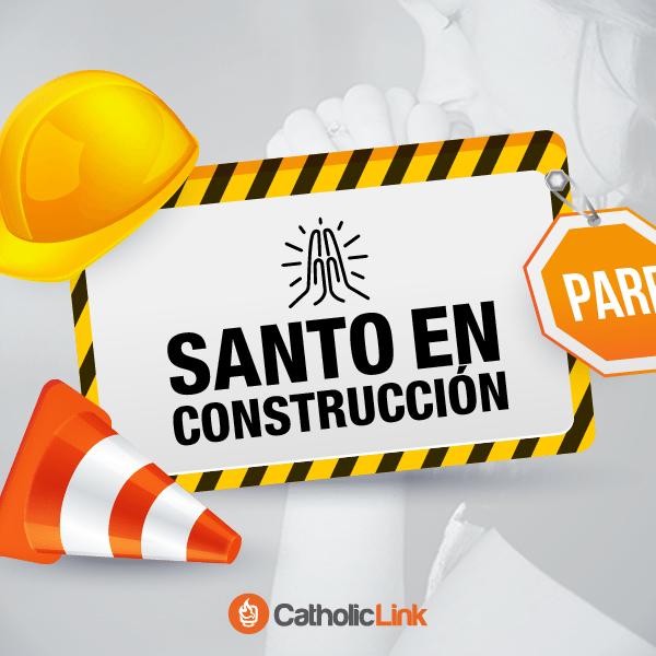 Santo en construcción