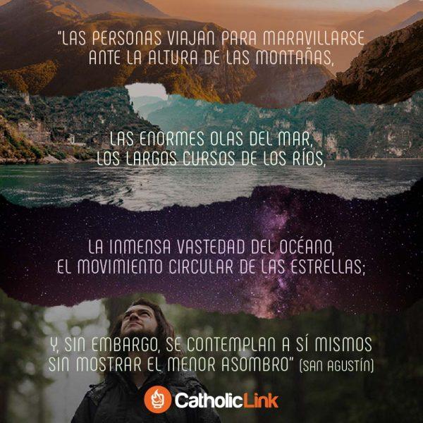 Aprender a maravillarse con uno mismo | San Agustín