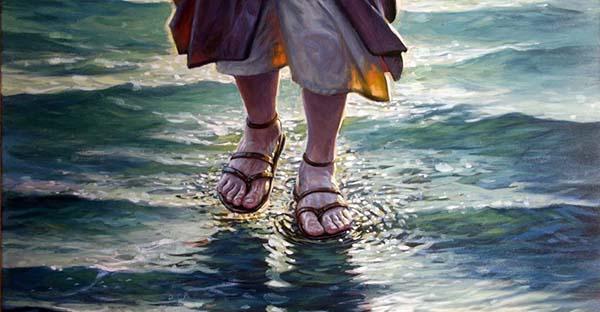 """Aguas, """"Señor, si eres tú, mándame ir hacia ti andando sobre el agua"""" (comentario al Evangelio)"""