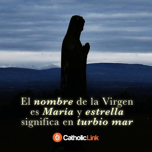 María es la estrella que ilumina nuestro camino