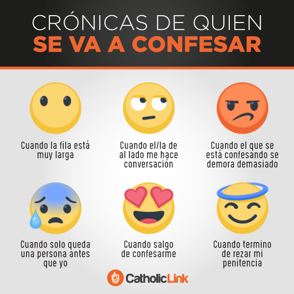 Crónicas de quien se va a confesar