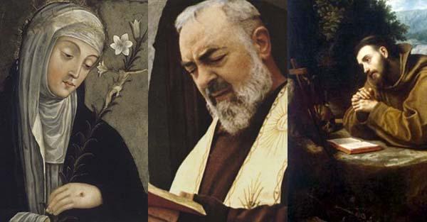 Estigmas, (Quiz) ¿Sabes cuáles fueron los santos que tuvieron los estigmas de Cristo?
