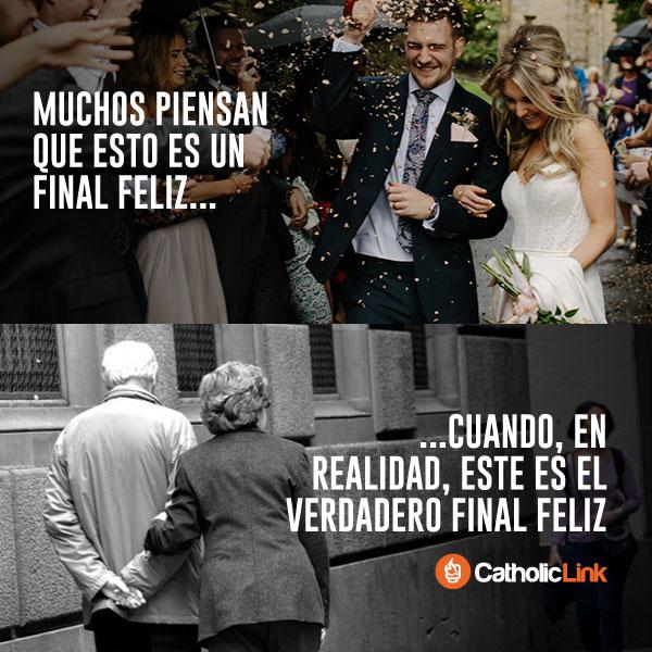El verdadero final feliz del matrimonio no es la boda