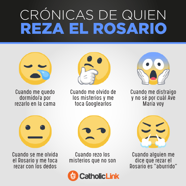 Crónicas de quien reza el Rosario