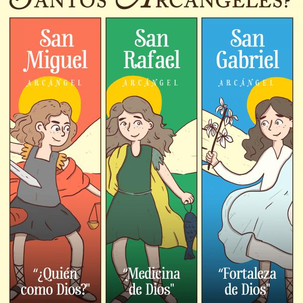Infografía: ¿Qué significan los nombres de los Arcángeles?