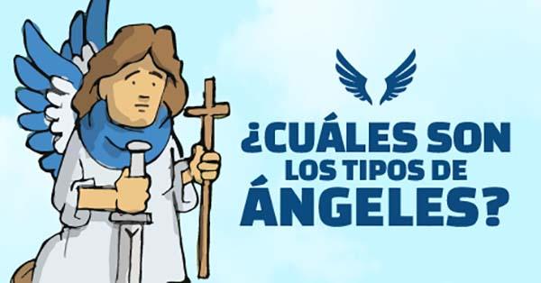 Ángeles, (Infografía) ¿Sabes cuántos tipos de ángeles hay en el cielo?