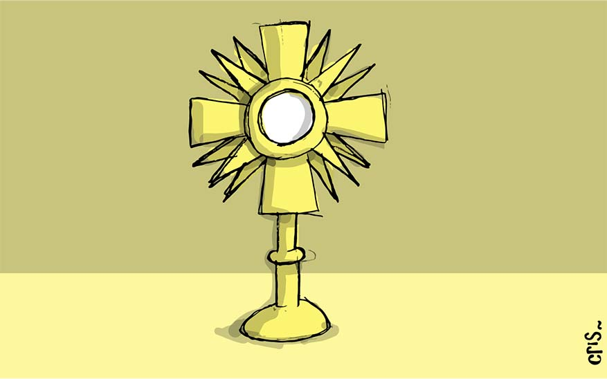 Blessed Sacrament The Blessed Sacrament: Step-by-Step Visual Guide To Adoration