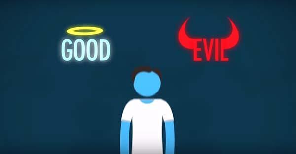 Moral, Sin Dios, el bien y el mal son solo opiniones. Un video con un argumento irrefutable