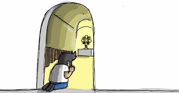 Santísimo, ¿Qué hacer durante una visita al Santísimo? Guía visual, paso por paso
