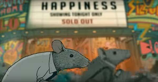 Felicidad, La felicidad, las ratas y nuestra frenética vida