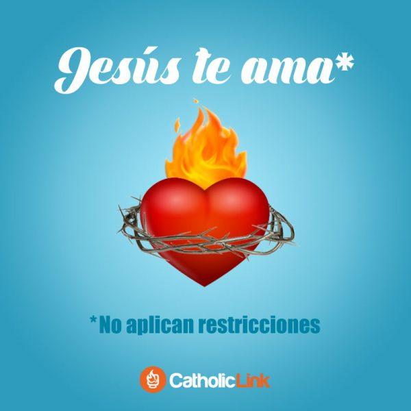 Jesús te ama sin restricciones