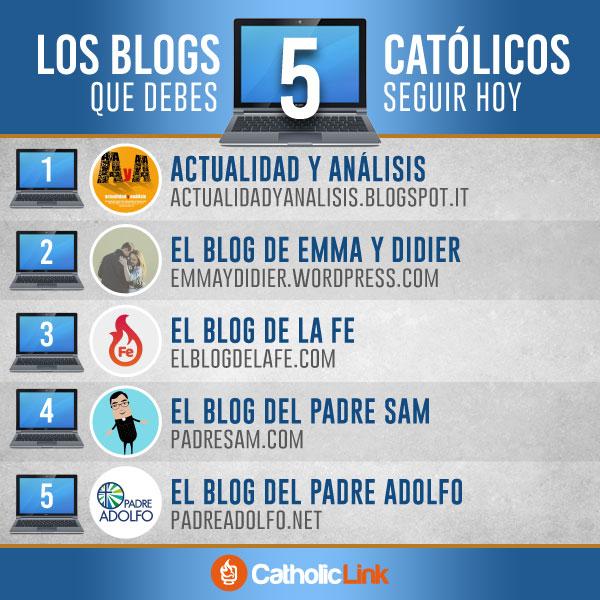 Infografía: 5 blogs católicos que deberías seguir