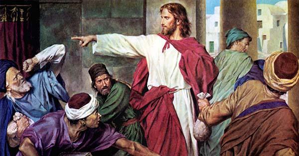 , ¿Podemos decir que Jesús era una persona celosa? (comentario al Evangelio)