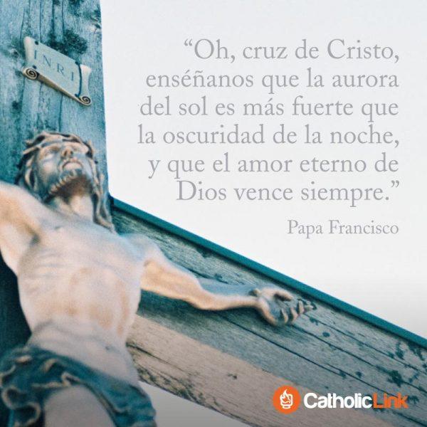 El amor eterno de Dios vence siempre, Papa Francisco
