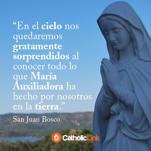 Galería 5 Frases Geniales De San Juan Bosco Catholic Link