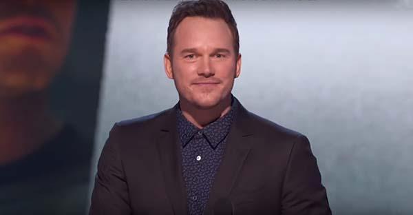 Chris Pratt, Chris Pratt nos sorprende con su testimonio de fe en los premios MTV