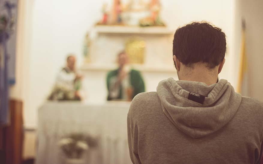 Dios, Tal vez si voy más seguido a la iglesia sumaré más puntos con Dios. ¿Será verdad?