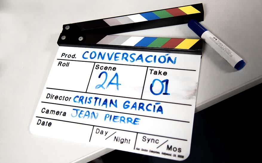 conversación, El día que Dios me dijo «Comenzamos esto solos, tú y yo». El testimonio del director Cristian García