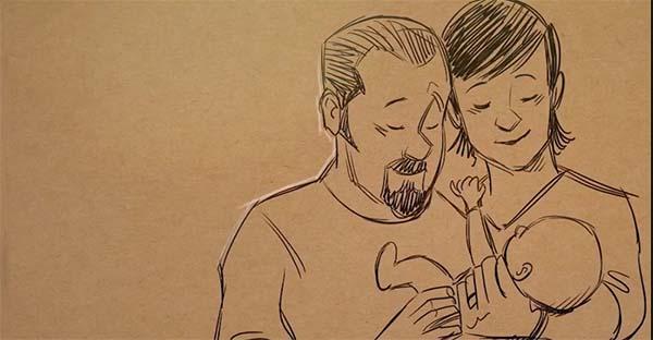 Gary Andrews, Esta es la historia de esperanza, amor y dolor de Gary Andrews, reconocido animador de Disney