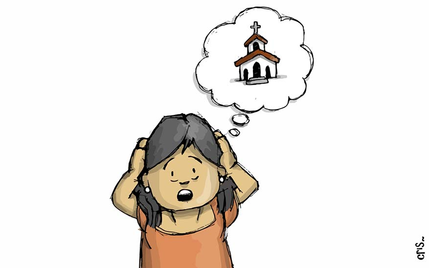 misa, ¿Por qué tengo que ir a misa los domingos? Te lo explicamos con caricaturas