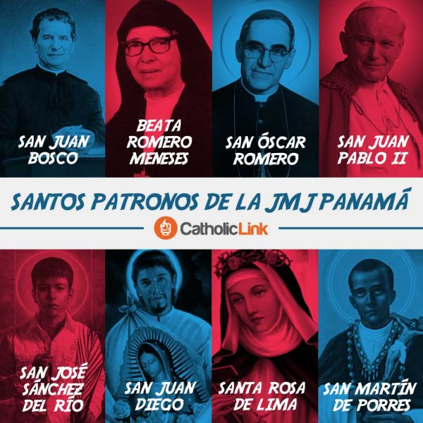 Infografía: Santos Patronos JMJ Panamá 2019