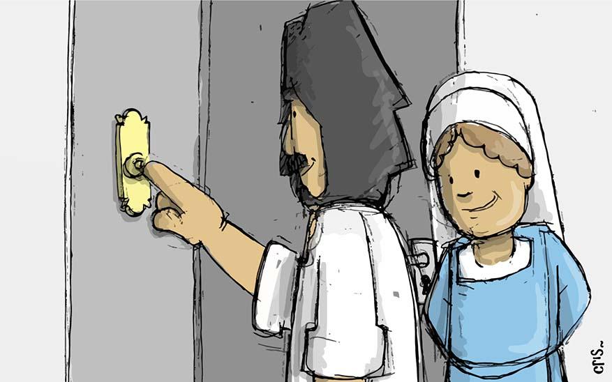 misiones, Misiones familiares. Esto fue lo que sucedió el día que Dios tocó a nuestra puerta